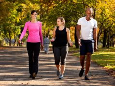 How many kilometers of walking a day is enough to prevent cancer?