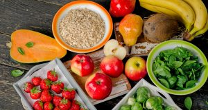 Eating many different foods helps maintain a healthy blood pressure